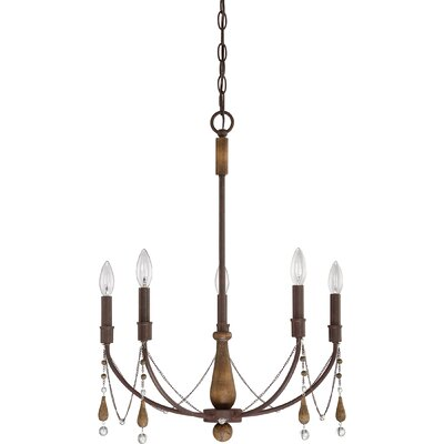 Alsace 5-Light Candle-Style Chandelier