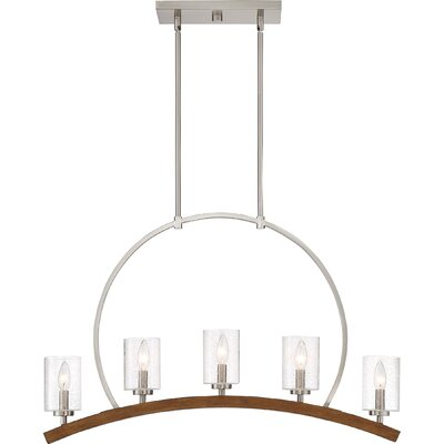 Corrine 5-Light Kitchen Island Pendant