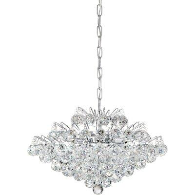 Faun 7-Light Crystal Pendant