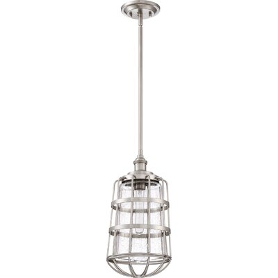 Calline Creek 1-Light Mini Pendant Size: 17.25 H x 8.5 W x 8.5 D