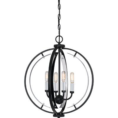 Castlewood 4-Light Globe Pendant