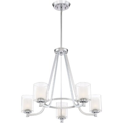 Moreland 5-Light Shaded Chandelier