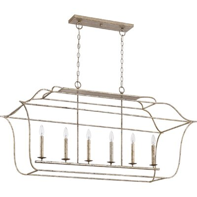 Byrd 6-Light Kitchen Island Pendant