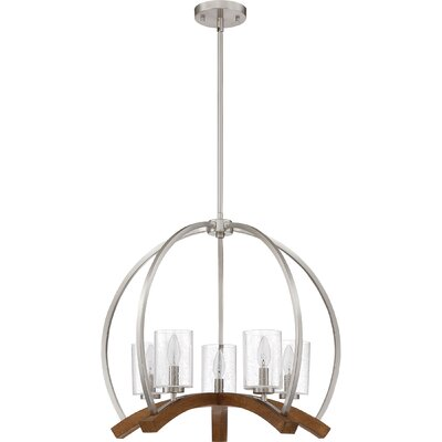 Corrine 5-Light Foyer Pendant