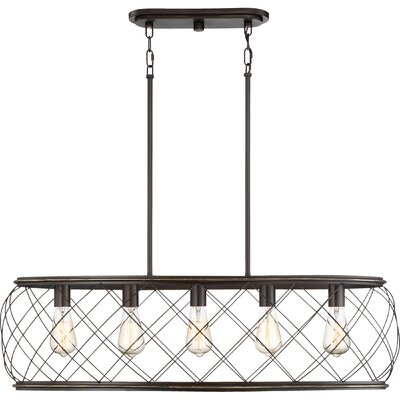 Meryl Traditional 5-Light Kitchen Island Pendant