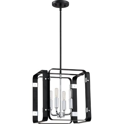 Franklin 4-Light Foyer Pendant