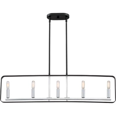 Franklin 5-Light Kitchen Island Pendant