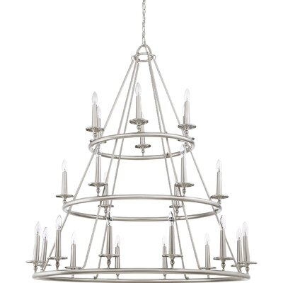 Chamberlain 24-Light Candle-Style Chandelier