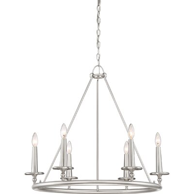 Chamberlain 6-Light Candle-Style Chandelier