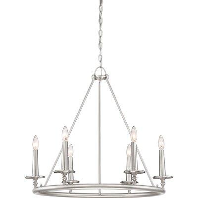 Chamberlain 6-Light Candle-Style Chandelier
