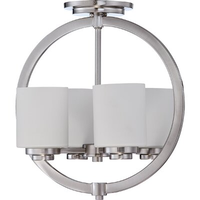 Peggy 4-Light Semi Flush Mount