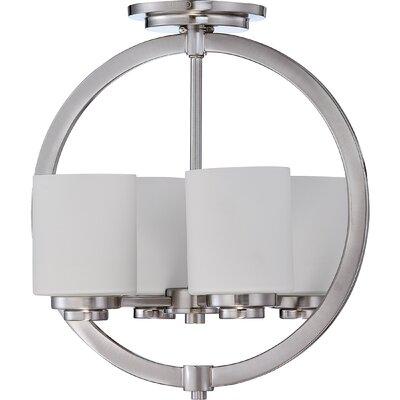 Peggy 4-Light Semi Flush Mount