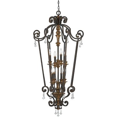 Windsor Rise 8-Light Foyer Pendant
