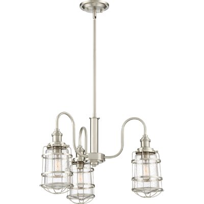 Calline Creek 3-Light Shaded Chandelier