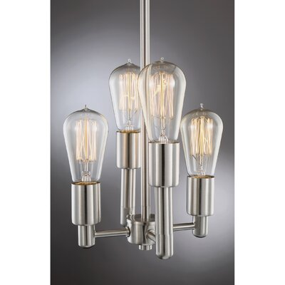 Sargeant 4-Light Foyer Pendant