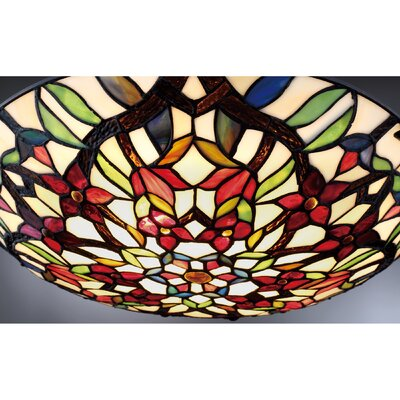 Hyland 2-Light Semi Flush Mount