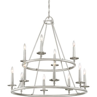 Chamberlain 12-Light Candle-Style Chandelier