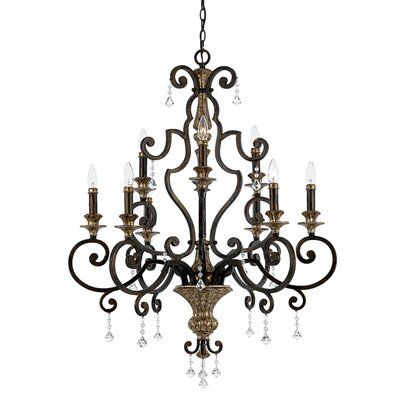 Windsor Rise 9-Light Candle-Style Chandelier
