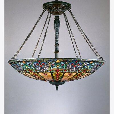 Tiffany 8-Light Inverted Pendant