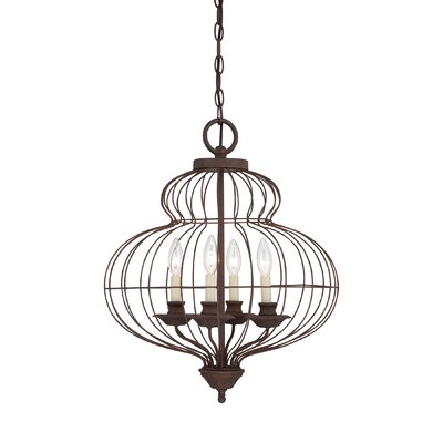 Aaden 4-Light Foyer Pendant