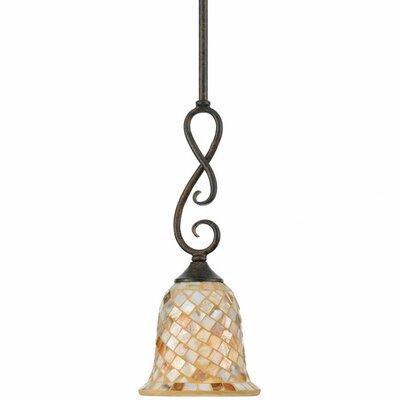 Monterey Mosaic 1-Light Piccolo Pendant