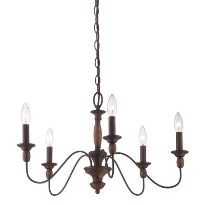 Sarah 5-Light Candle-Style Chandelier