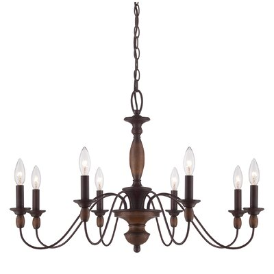 Sarah 8-Light Candle-Style Chandelier