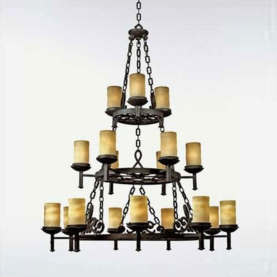 Mendoza 18-Light Candle-Style Chandelier
