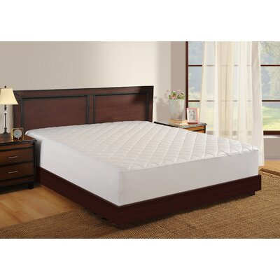Mattress Protector Polyester Mattress Pad Size: Twin