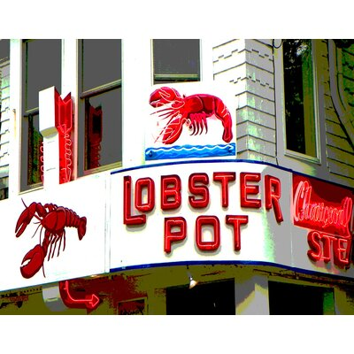 'Lobster Pot' Photographic Print on Canvas