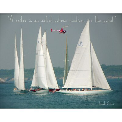 'America's Cup Winners' Graphic Art Print on Canvas BKWT2282 40214444