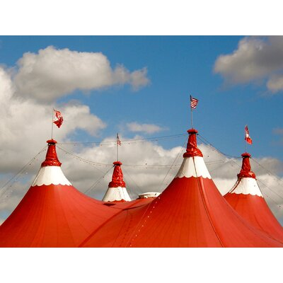 'Under the Big Top' Photographic Print on Canvas