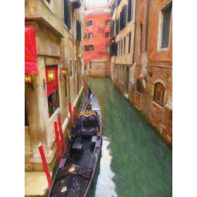 'Venice Gondola' Print on Canvas
