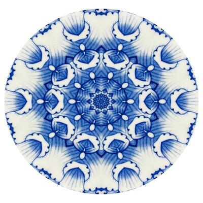 'China Blue #4' Graphic Art Print on Canvas