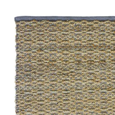 Hand-Woven Gray Area Rug Rug Size: 3 x 5