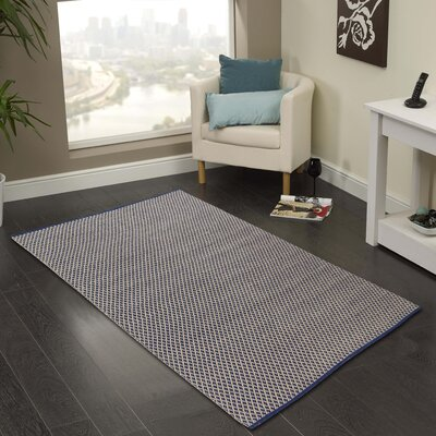 Hand-Woven Area Rug Rug Size: 3 x 5
