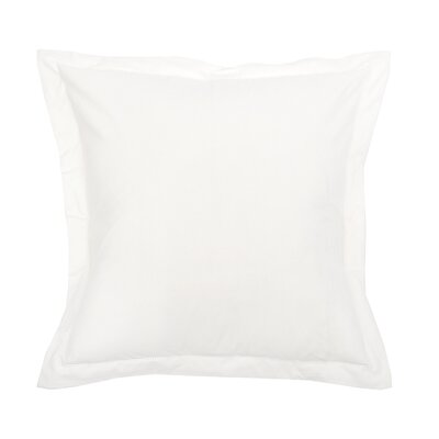 Hemstitch Sham Color: White