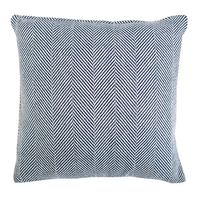 Tabor Cotton Throw Pillow Color: Ink