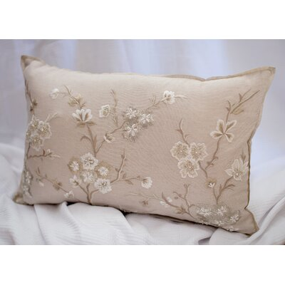 Blossom Branch Cotton Lumbar Pillow