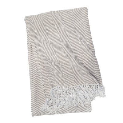 Tabor Cotton Throw Color: Sandstone