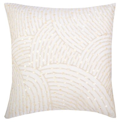 Pearl Arc Cotton Throw Pillow