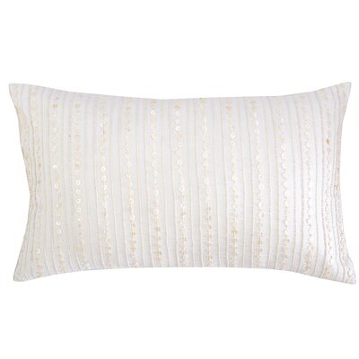 Pearl Stripe Cotton Lumbar Pillow