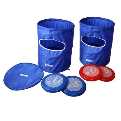 Flying Disc Slam Toss Game Frisbee Set SF17021