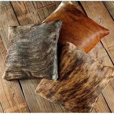 Brindle Cowhide Throw Pillow