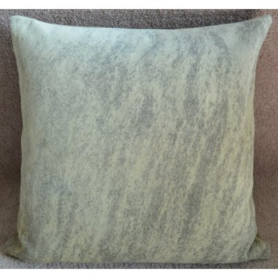 Light Brindle Cowhide Throw Pillow