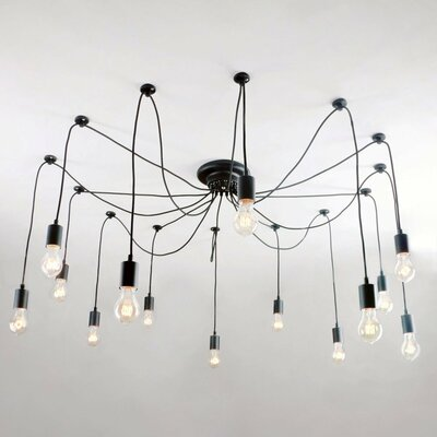 14-Light Sputnik Chandelier