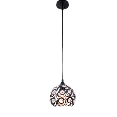 Bryanna 1-Light Crystal Pendant