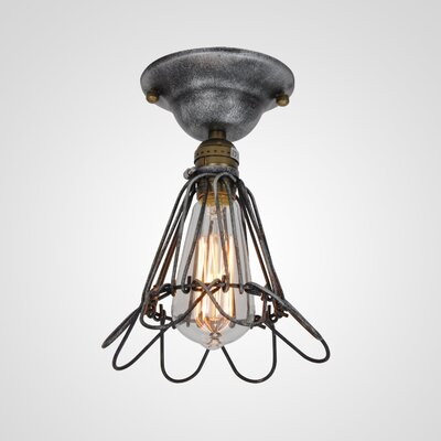 Bianca 1-Light Semi Flush Mount