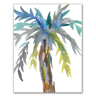 'Palm Tree' Watercolor Painting Print