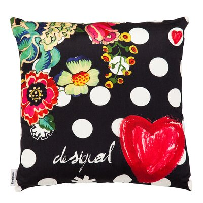 Polka Dot Throw Pillow